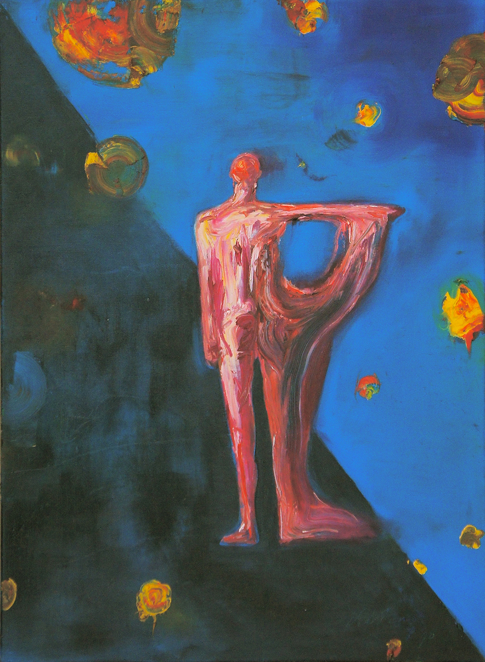 """""""Untitled"""", 1989, Oil / Canvas, 80 x 60 cm"""