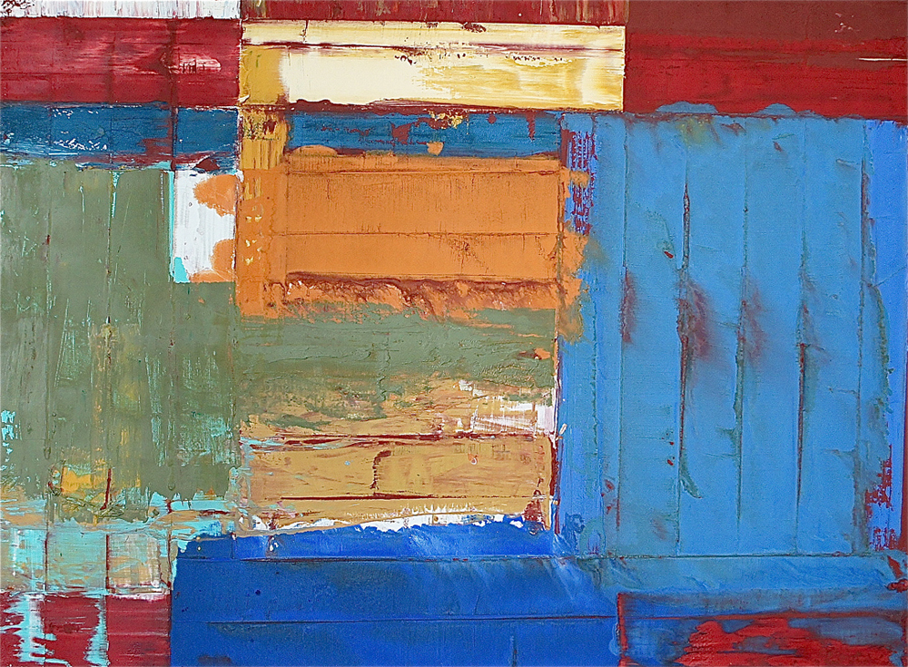 Untitled, 1988, Oil / Canvas, 113 x 151 cm