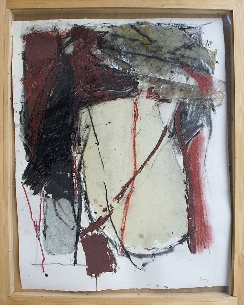 """Untitled"", 1986, Mixed Media / Paper, 65 x 50 cm"