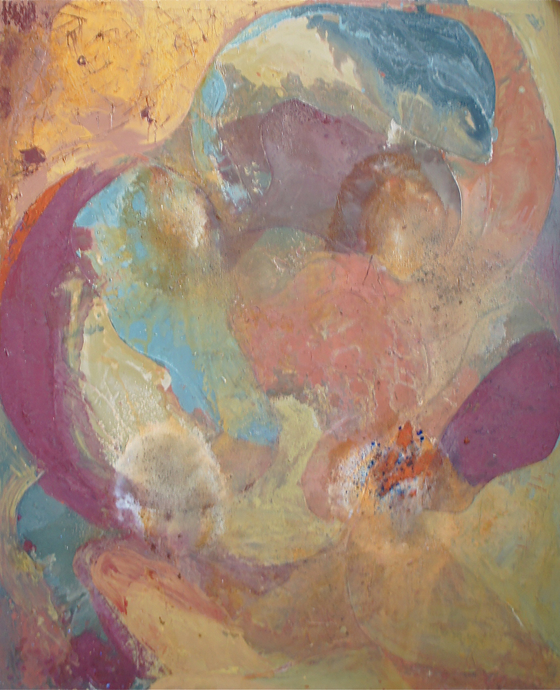 """Untitled"", 1988, Mixed Media / Canvas, 160 x 135 cm"